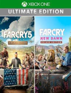 Conjunto_Far Cry® 5 Gold Edition + Far Cry® New Dawn Deluxe Edition - Xbox One