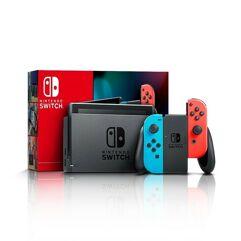 Console_Nintendo Switch 32GB - Azul e Vermelho