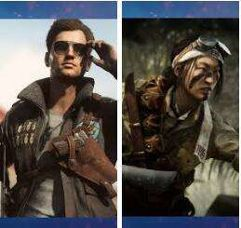 [DLC]_Battlefield V - Steve Fisher (Aliados) and Akira Sakamoto (Axis)