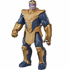 Boneco_Action Figure Thanos Titan Hero Deluxe E7381 - Hasbro