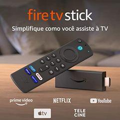Novo_Fire TV Stick com Controle por Alexa | Streaming em Full HD