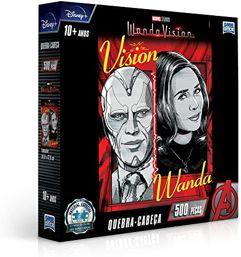 Quebra-Cabeça_Marvel Wanda Vision - 500 Peças - Toyster