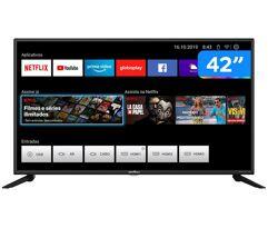 Smart_TV LED 42'' HDMI USB Full HD Quad-Core Britania