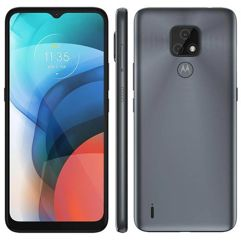 """Smartphone_Motorola_Moto_E7_XT2095-1_64GB_4GB_RAM_Tela_de_6.5""""_Cam_Traseira_Dupla_Android_10_e_Processador_Octa-Core_"""