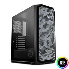 Gabinete_Pichau Gaming Gadit X RTB Lateral Vidro LED RGB