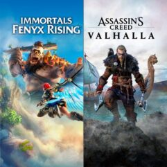 Pacote_Assassin's Creed Valhalla + Immortals Fenyx Rising - Xbox One