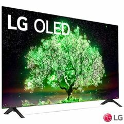 "Smart_TV 55"" LG 4K OLED 55A1 ThinQ AI Google Alexa - 2021"