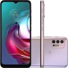 "Smartphone_Motorola_Moto_G30_128GB_4GB_RAM_4G_Wi-Fi_Câm._Quádrupla_+_Selfie_13MP_6,5""_White_Lilac"