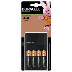 Carregador_de Pilhas com 4 pilhas AA - Duracell