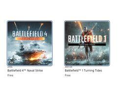[DLCs]_Battlefield 1 Turning Tides e Battlefield 4 Naval Strike de graça