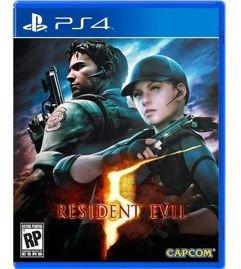 Jogo_Resident Evil 5 - PS4