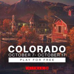 Jogue_o conteúdo de Colorado em HITMAN 3 de GRAÇA
