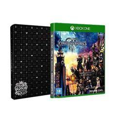 Kingdom_Hearts lll + Brinde Steelbook - Xbox One